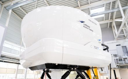 Lufthansa Full Flight Simulator